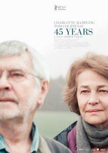 Filmplakat 45 YEARS - eine Filmempfehlung für Altenpfleger